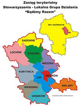 mapa zasięgu LGD